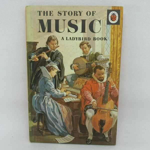 Ladybird 'The Story of Music' - Series 662 - Matt Hardback - 2/6 - First Edition